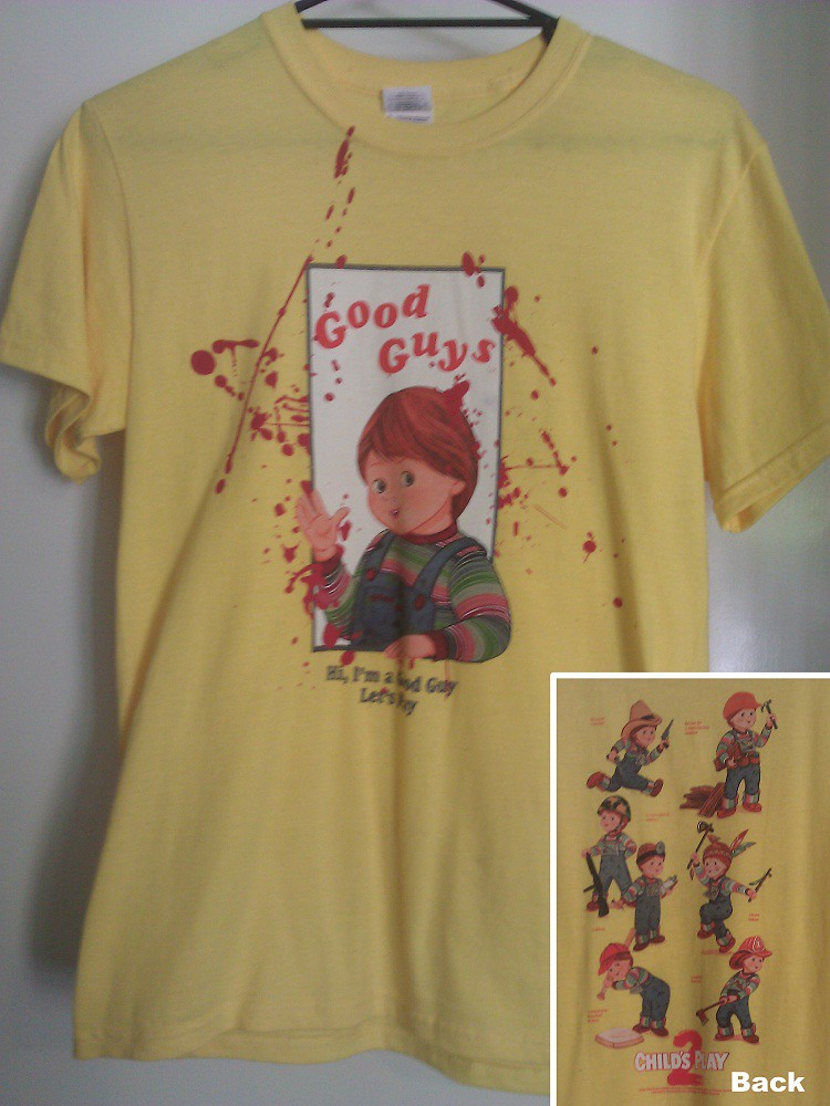 Good Guys Chucky Childs Play Living Dead Girl Flickr - Good guys tee shirts