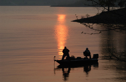 Fishing at Sunset | by Visit Btown