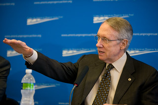 Senate Majority Leader Harry Reid | by Center for American Progress Action Fund