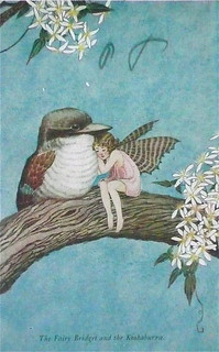 the fairy bridget and the kookaburra | by Lileelops