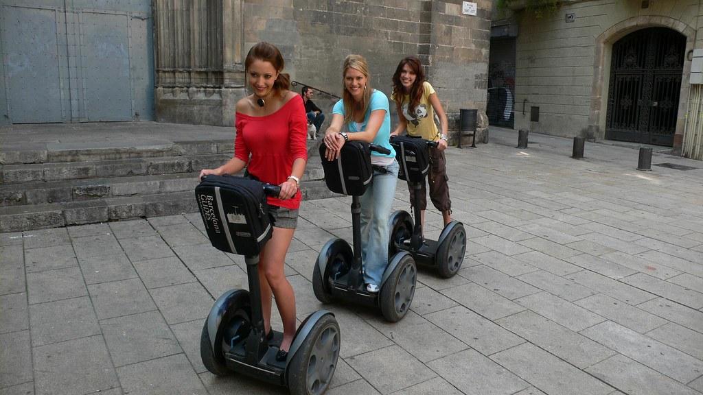 Segway Tour Barcelona Photos - BARCELONA SPAIN GLIDES