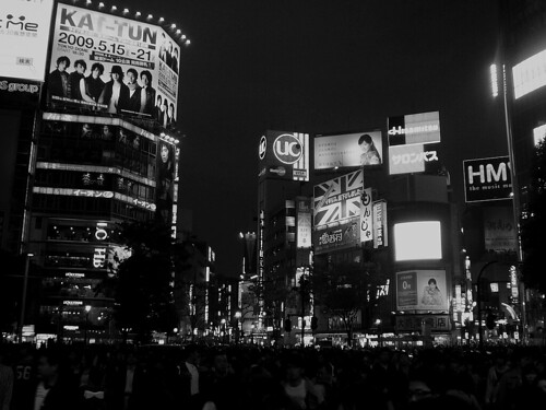 Shibuya Crowd & Buildings | by Cliffano