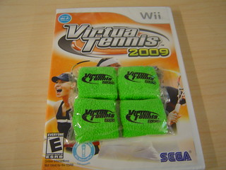 Virtua Tennis Wii and 4 finger bands | by SEGA of America