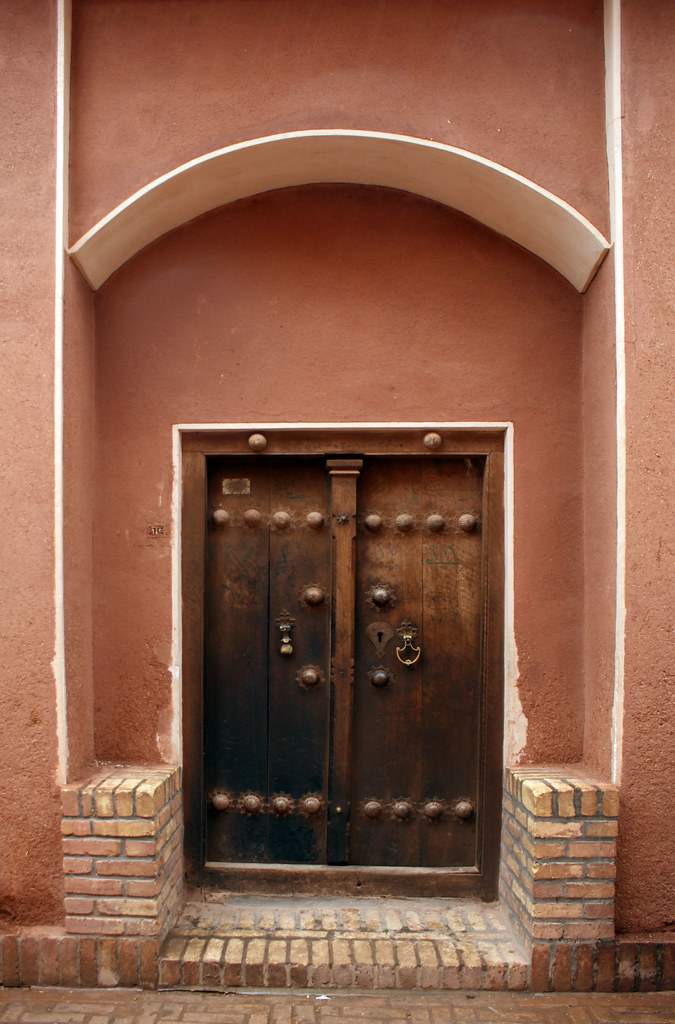 by Lida Arzaghi A persian old door... | by Lida Arzaghi & A persian old door... | An old door in