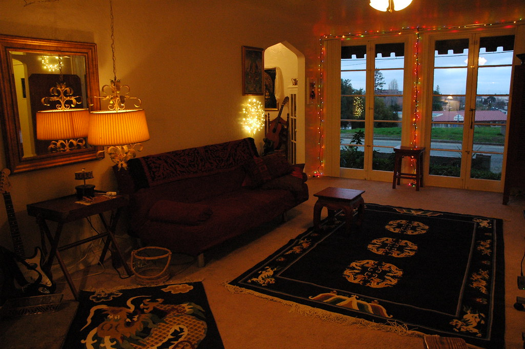 Bachelorette Pad Decor 2008/09 bachelorette pad in california, living room, a 196… | flickr