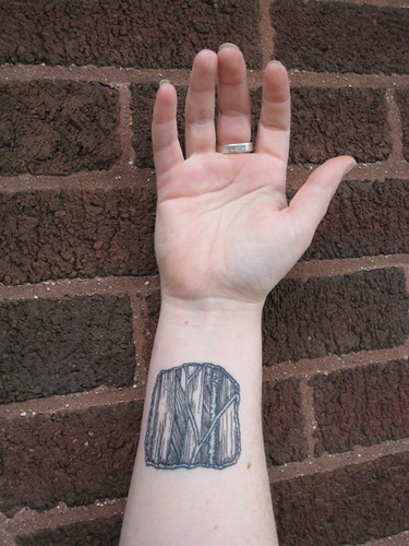 Wrist anatomy tattoo | by street anatomy