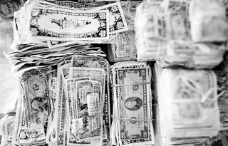 Piles of Money | by Thomas Hawk