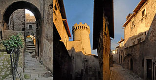 Santo Stefano di Sessanio (Abruzzo): streets and Tower (my photos in november 2008, before earthquake) | by angelocesare