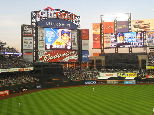 Highdef scoreboard at Citi Field | by scriptingnews