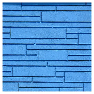 rectangular blue | by fourcotts