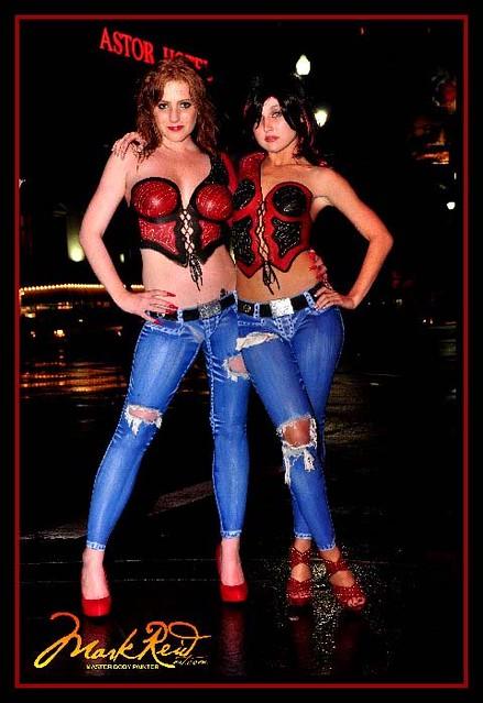Megan Katy Bourbon Street New Orleans Mark Reid Art Master Body