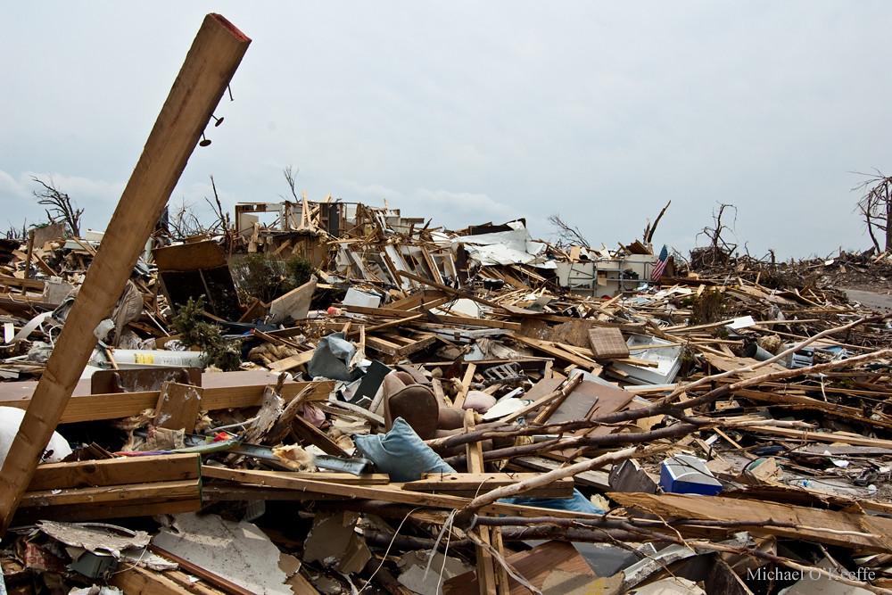 joplin mo ef5 tornado damage miles and miles of this horr flickr