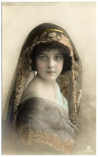 The Most Beautiful Edwardian Girl (1911) | by postaletrice