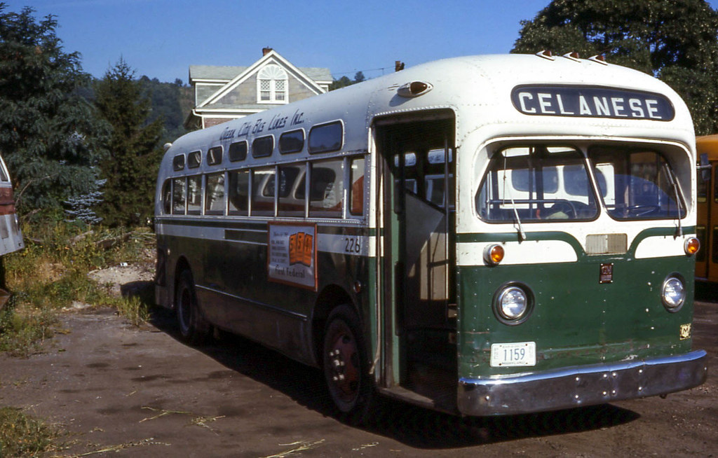 19690827 01 Queen City Bus Linesberland Md By Davidwilson1949