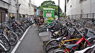 Shibuya Parking - one of the many bike parking areas near the station. | by Mikael Colville-Andersen