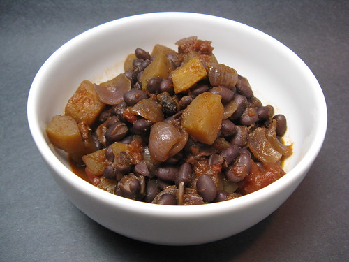 Black Bean & Squash Chili | by katbaro