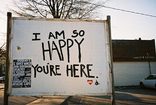 I Am so HAPPY You're Here | by lola smalls