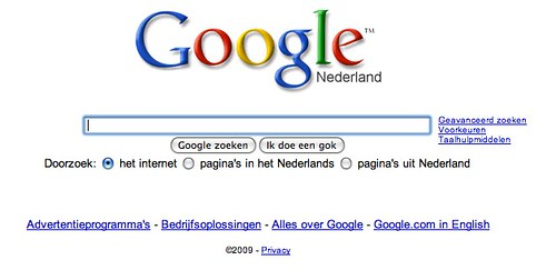 What Is In Spark >> Google.nl | www.google.nl Uploaded with plasq's Skitch | Tim Bonnemann | Flickr
