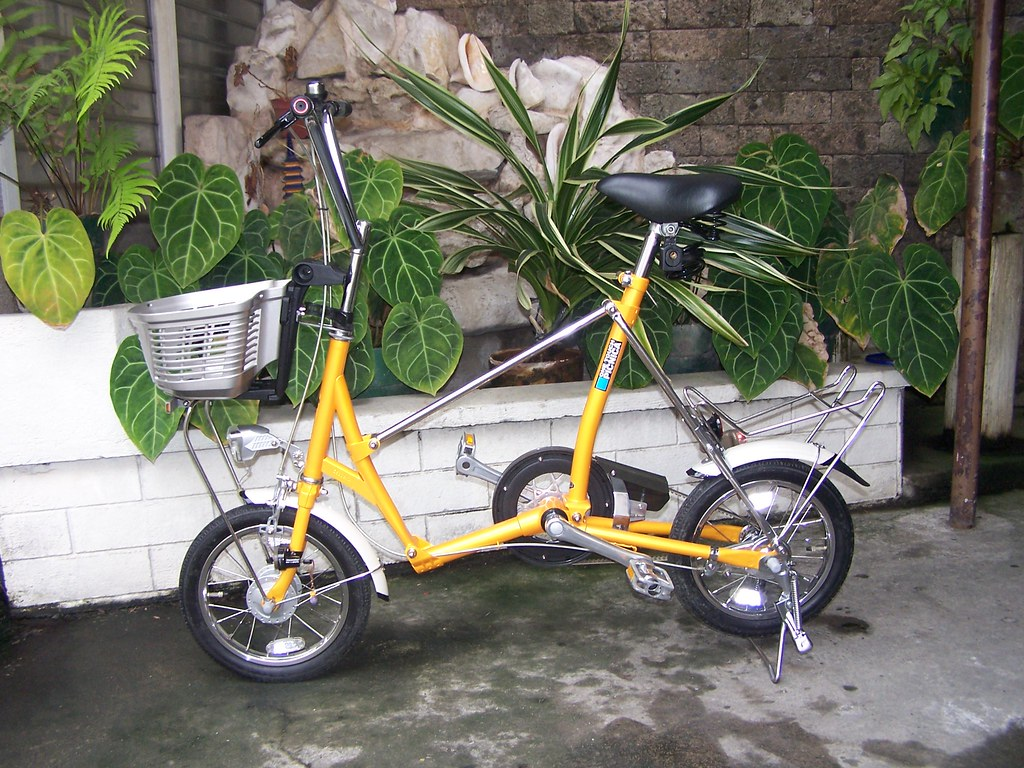 Bridgestone One Touch Picnica Folding Bicycle Bridgeston Flickr