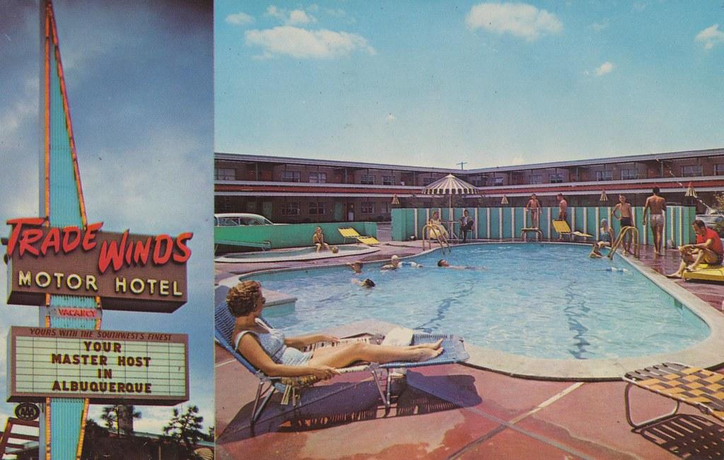 The Cardboard America Motel Archive Trade Winds Motor Hotel Albuquerque New Mexico