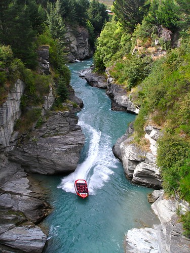 Shotover Jet, Jet Boating the Shotover River Canyons, Queenstown, New Zealand | by Alex E. Proimos