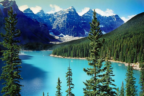 The Rockies ..  Canada .. Moraine Lake | by Nick Kenrick..
