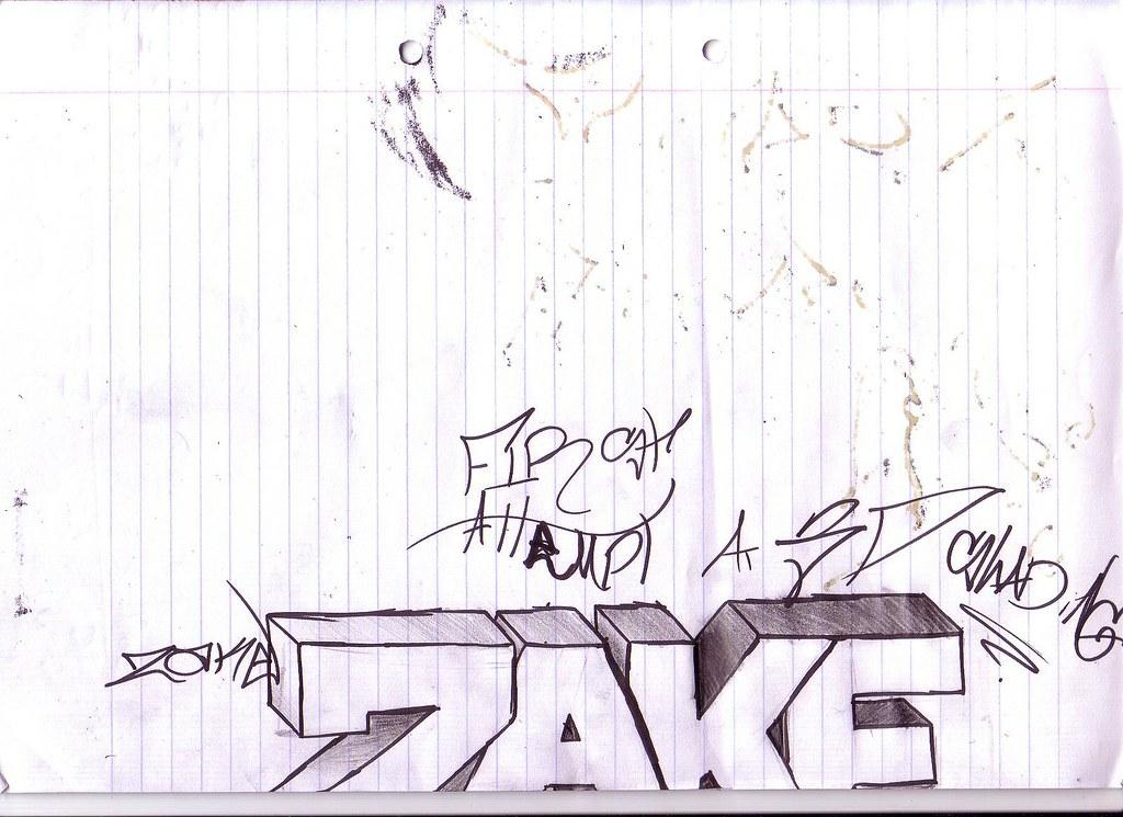 Zake Graffiti A Simple Graffiti Piece By Zake Zakeoner Flickr