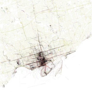 The Geotaggers' World Atlas #10: Toronto | by Eric Fischer