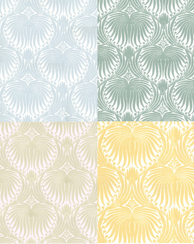 Farrow Ball Lotus Print Wallpaper