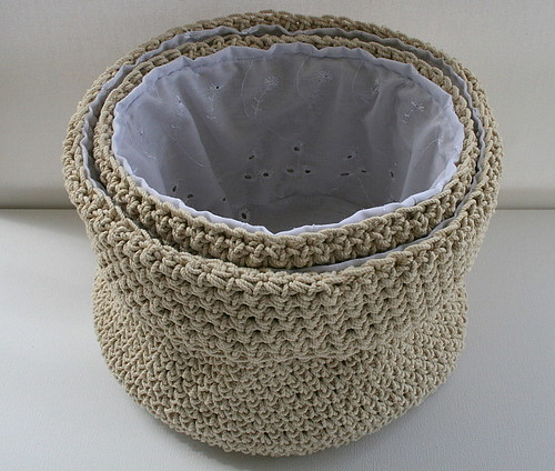 Crochet basket | by Anat Dvir