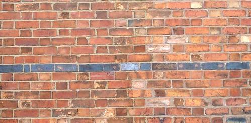 Brick Wall Effect Tile Living Room