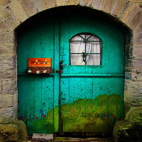 the funny green door | by ♦ Peter & Ute Grahlmann ♦