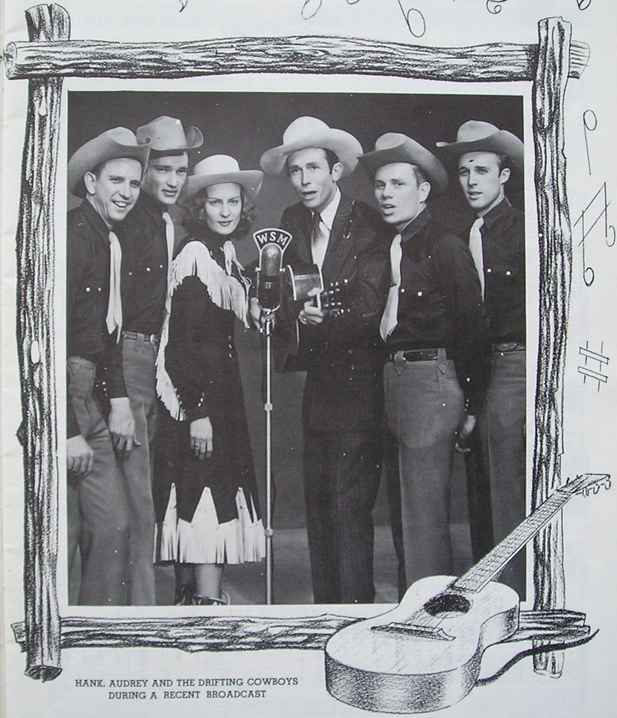 Hank Williams & The Drifting Cowboys on WSM | by bunky's pickle