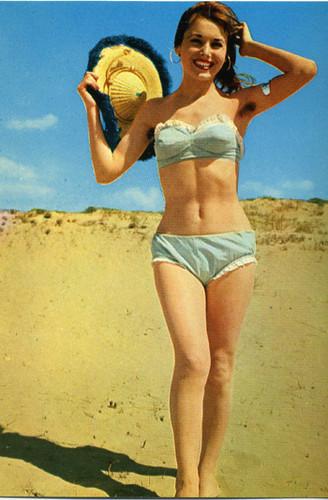 Bellezze al bagno anni \'50/\'60 2° serie   Coll.ne M.Algozzin ...