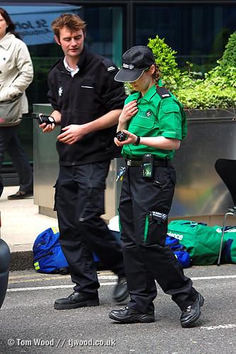 First Aider Trials New Uniform A St John Ambulance