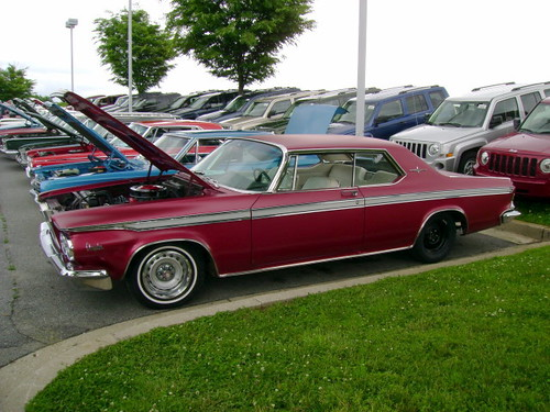 1964 Chrysler 300 Chrysler Product Owners Club Show At