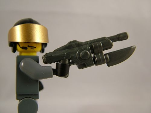 BrickArms Heavy Space Rifle Prototype with Glaive Prototype | by enigmabadger
