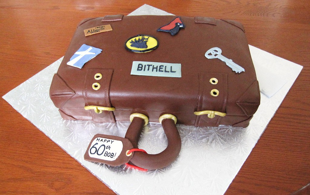 Suitcase Cake Suitcase Birthday Cake Covered In Chocolate Flickr