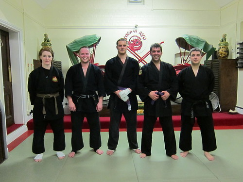 Alex, Sensei Paul, Adam, Frank, Sensei Dom | by Manny V