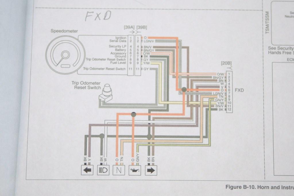 Harley Davidson Sdometer Diagram   Wiring Schematic ... on