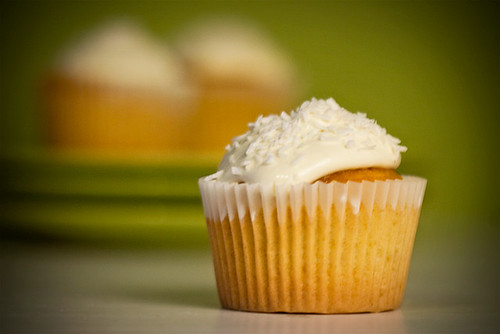 Rum Coconut Cupcakes | by shimelle