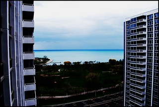 lake michigan from marine drive chicago | by dissuadedotorg