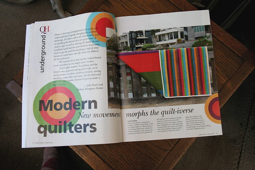 Quilter's Home article | by alissahcarlton