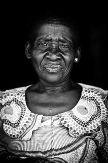 Lendu woman at the doorstep of her mud hut   - DR CONGO - | by C.Stramba-Badiali