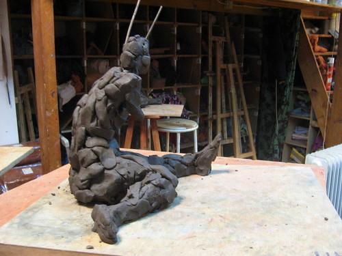 sculptures atelier saint fargeau 2008 association chap flickr. Black Bedroom Furniture Sets. Home Design Ideas