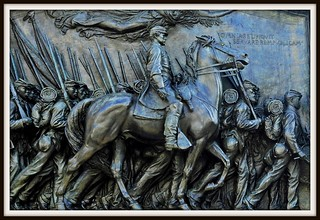 Glory: Shaw and the Black Soldiers of the Massachusetts 54th | by Tony Fischer Photography