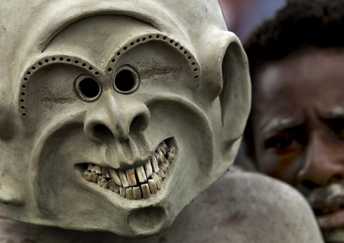 Mud Men tribe from Asaro - Papua New Guinea | by Eric Lafforgue