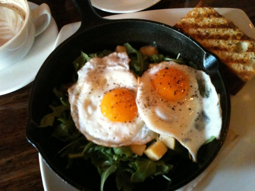 French egg breakfast | by Thad Allender