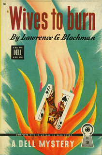 Dell Books 134 - Lawrence G. Blochman - Wives to Burn | by swallace99