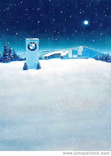 Bmw Christmas Card Copyright John Perlock 2007 This Was P Flickr